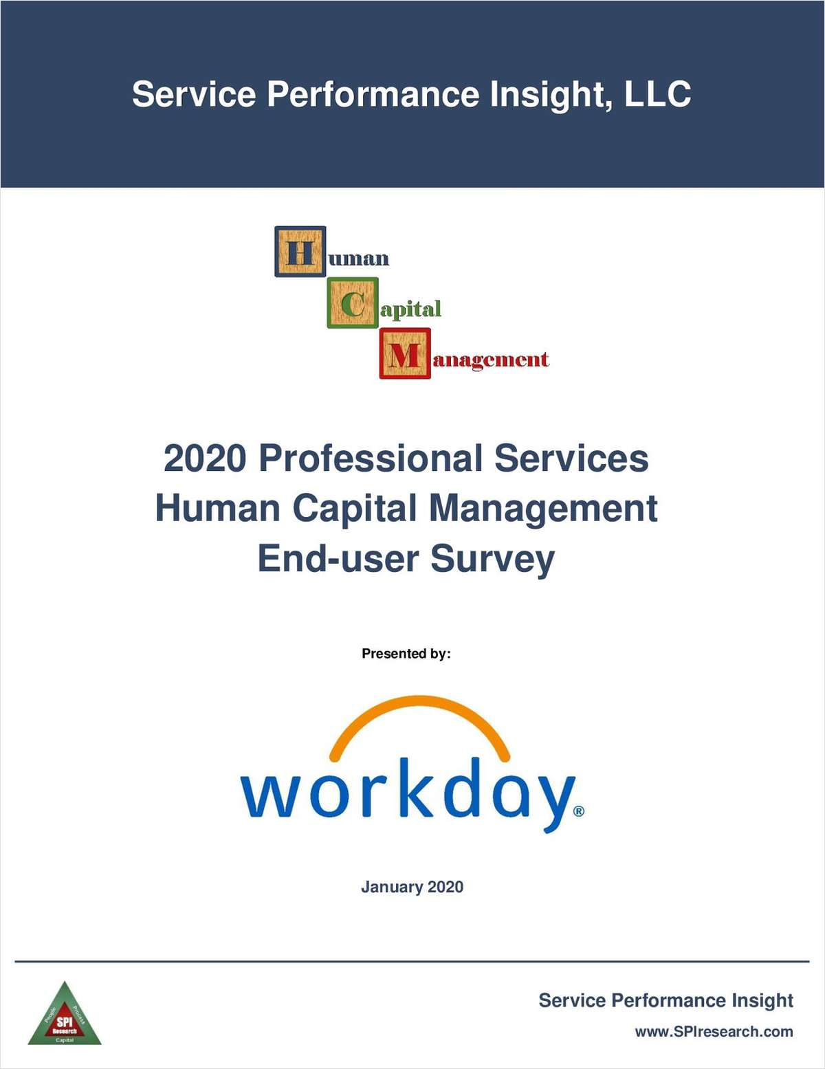 2020 Professional Services HCM End-User Survey Report