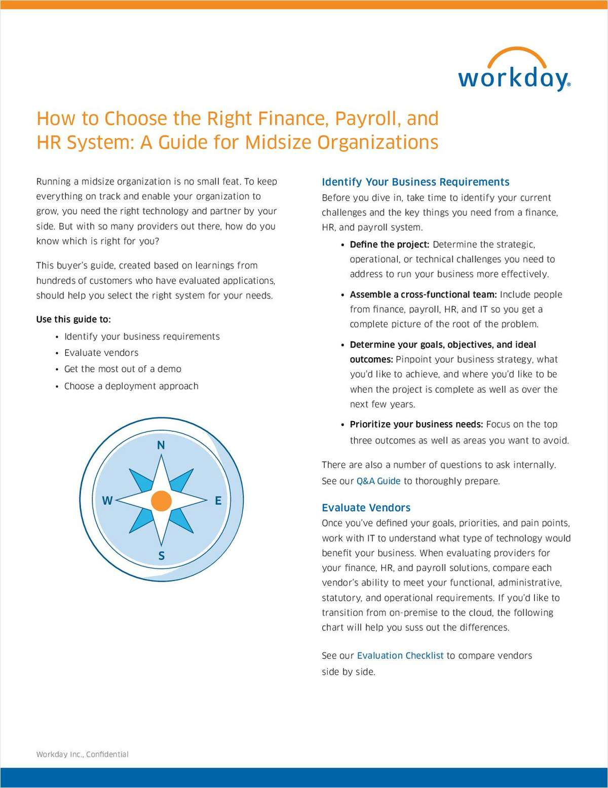 How to Choose the Right Finance, Payroll, and HR System - A Guide for Midsize Organizations