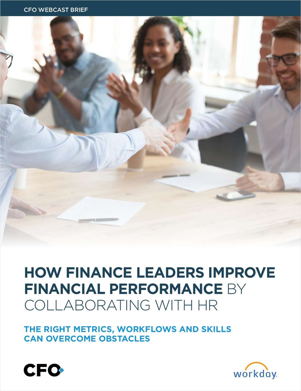 How Finance Leaders Improve Financial Performance by Collaborating with HR