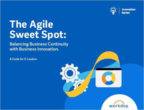 The Agile Sweet Spot: Balancing Business Continuity with Business Innovation