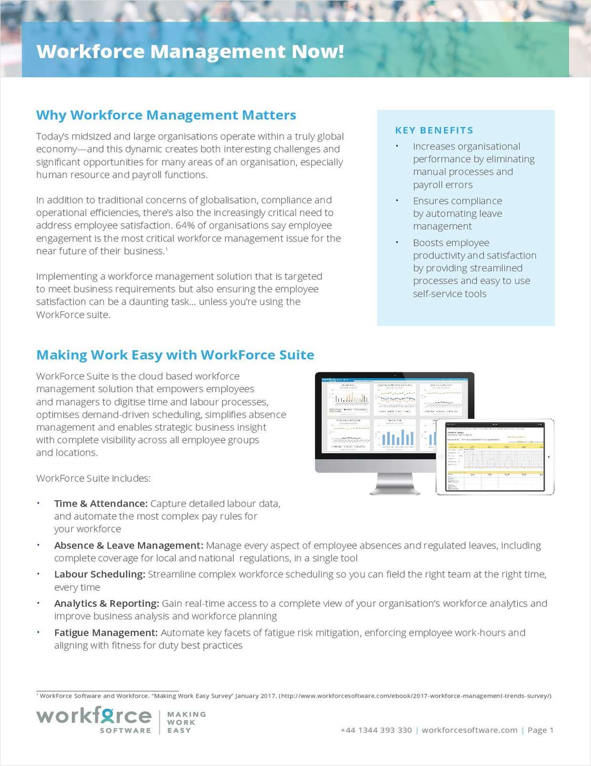 Why Workforce Management Matters