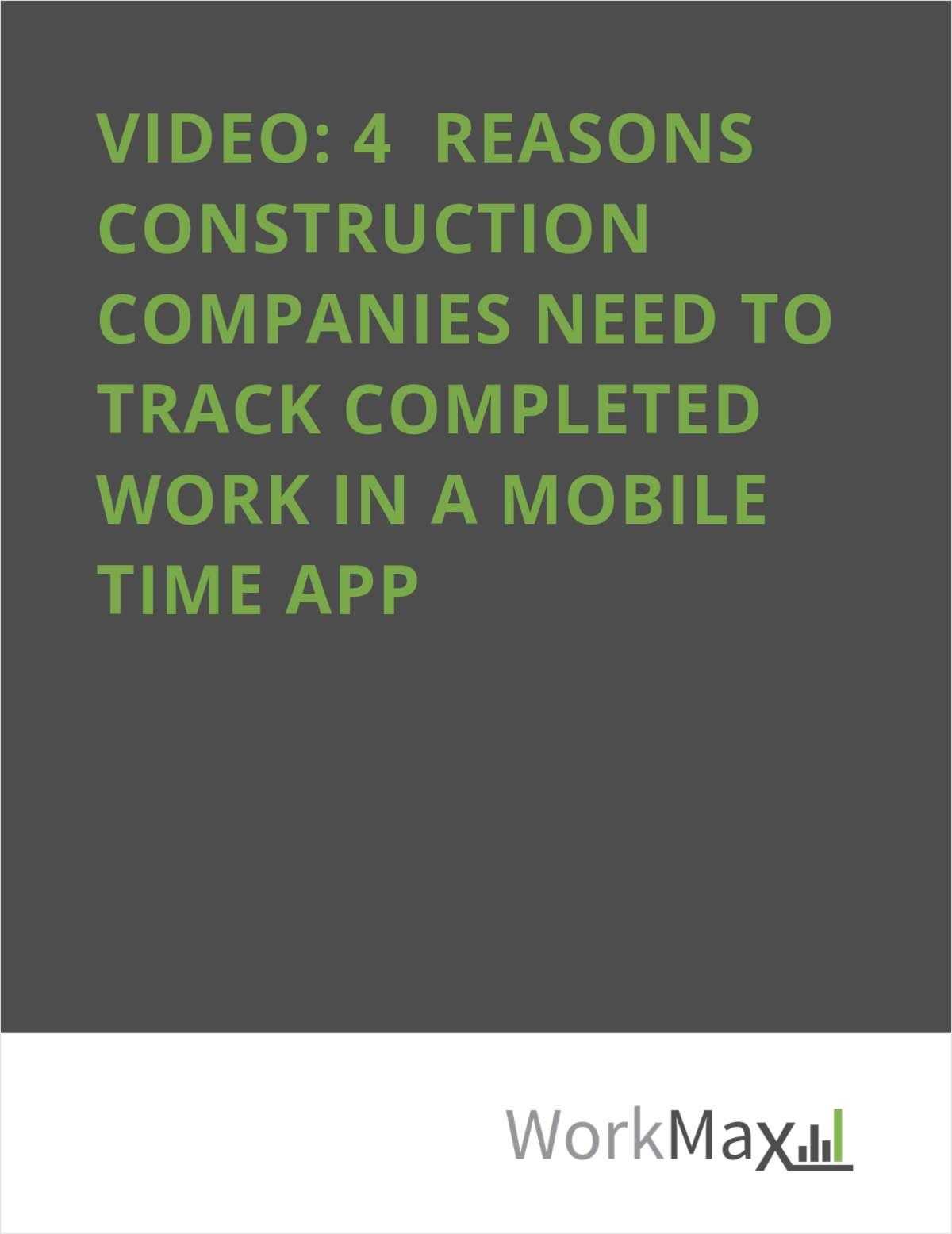 VIDEO: 4 Reasons to Track Completed Work In Your Mobile Time App