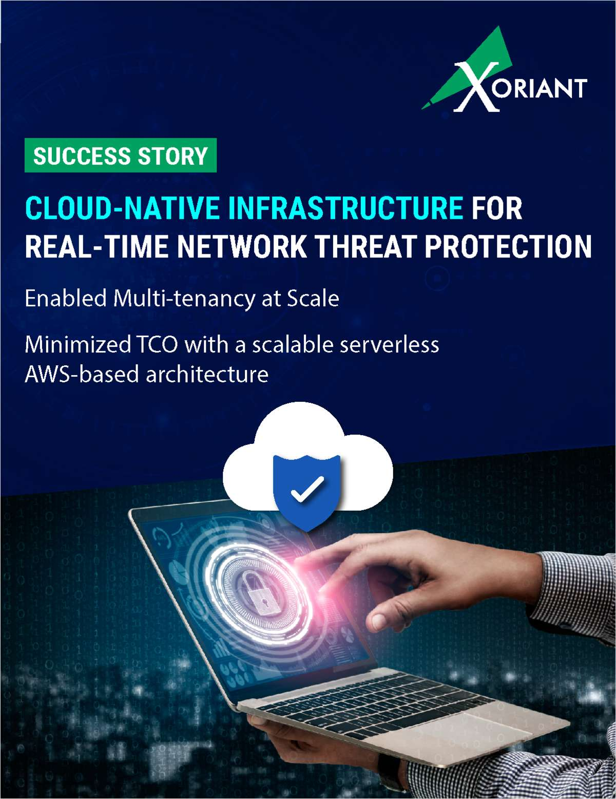 Cloud-Native Infrastructure for Real-Time Network Threat Protection