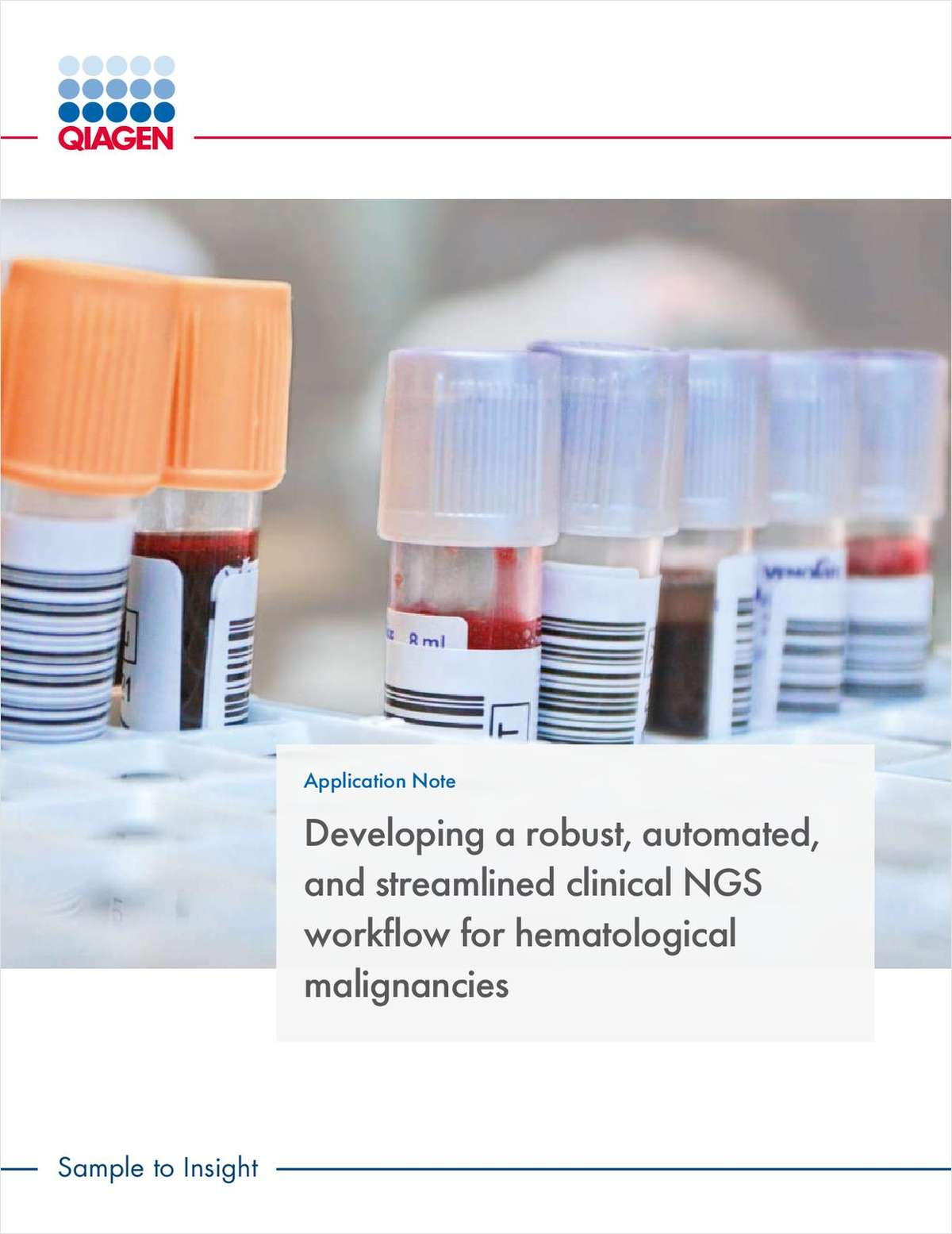 Developing a Robust, Automated, and Streamlined Clinical NGS Workflow for Hematological Malignancies