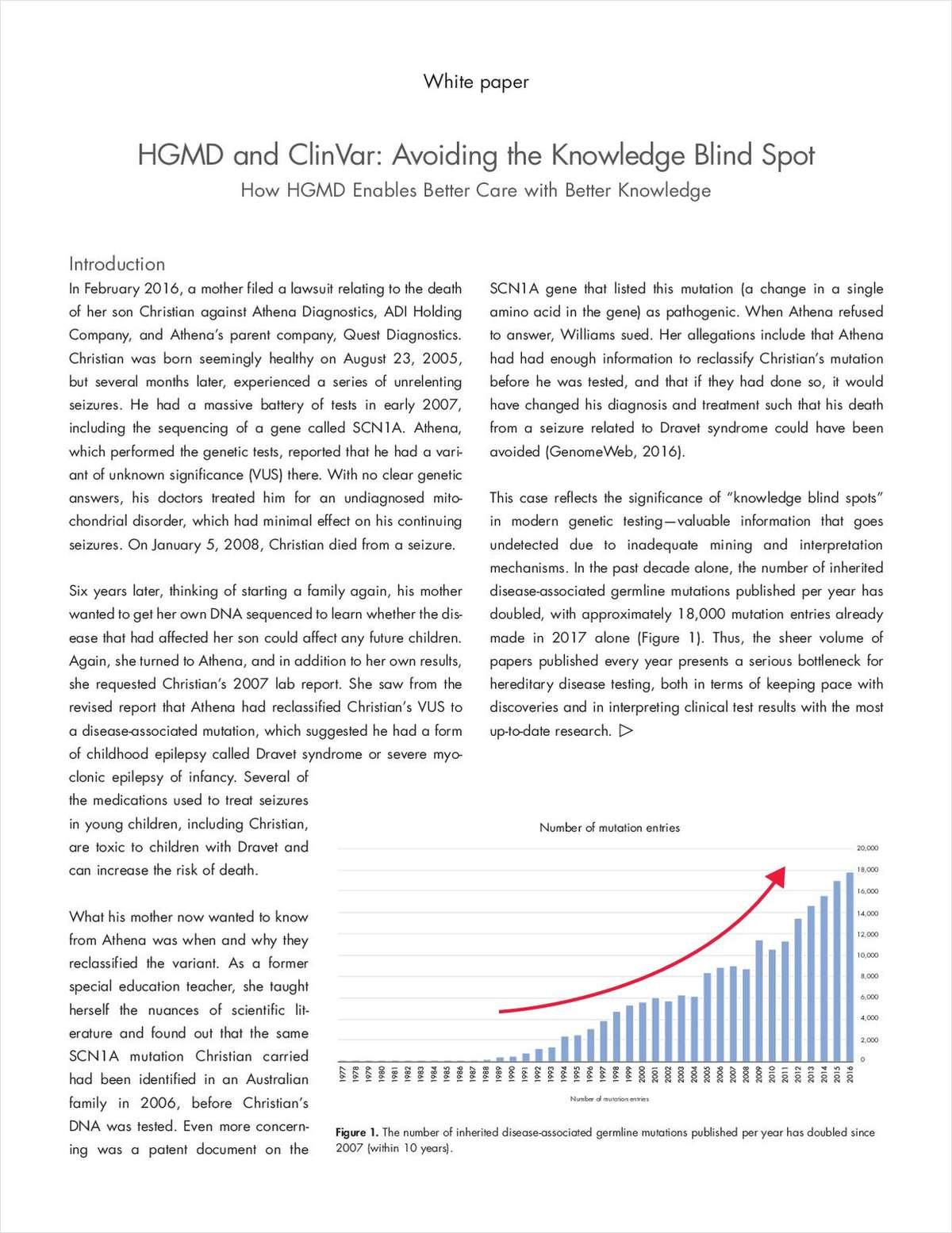 HGMD and ClinVar: Avoiding the Knowledge Blind Spot