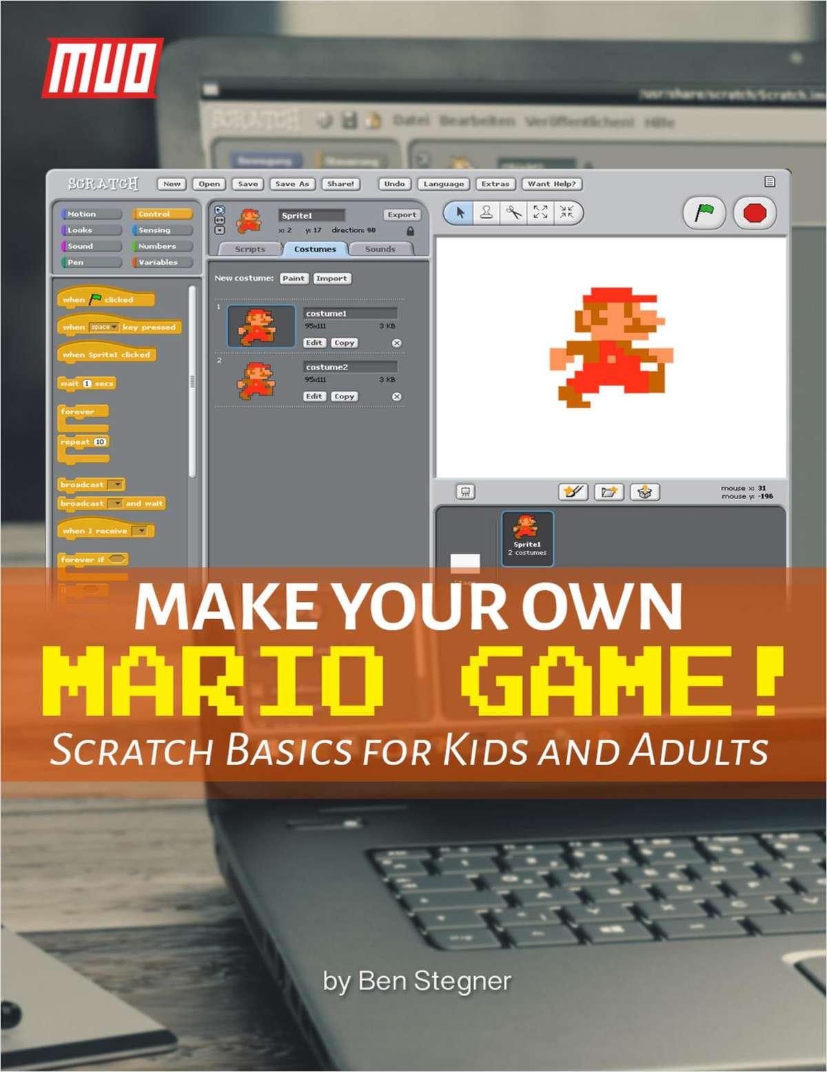 Make Your Own Mario Game!