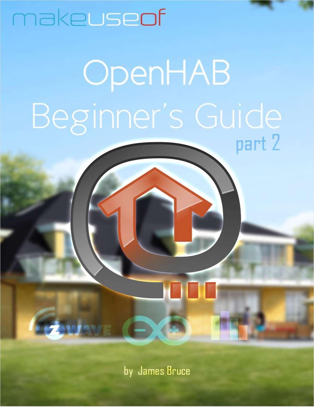 OpenHAB Beginner's Guide Part 2