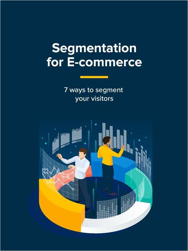 Segmentation for E-commerce