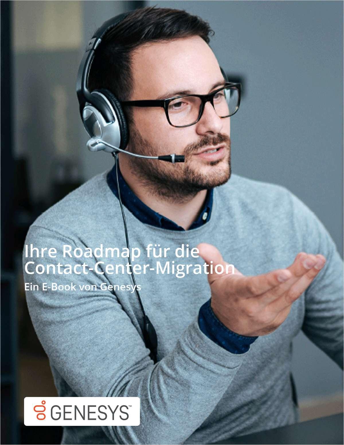 Ihre Roadmap für die Contact-Center-Migration