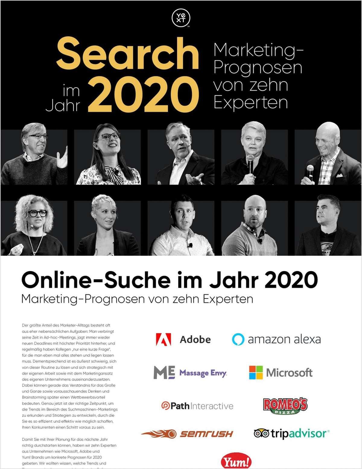 Search im Jahr 2020?