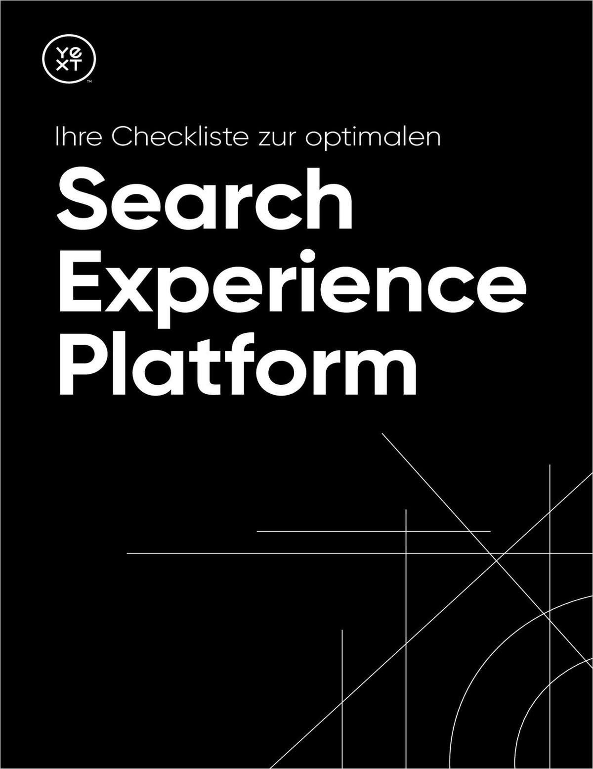 Ihre Checkliste zur optimalen Search Experience Platform