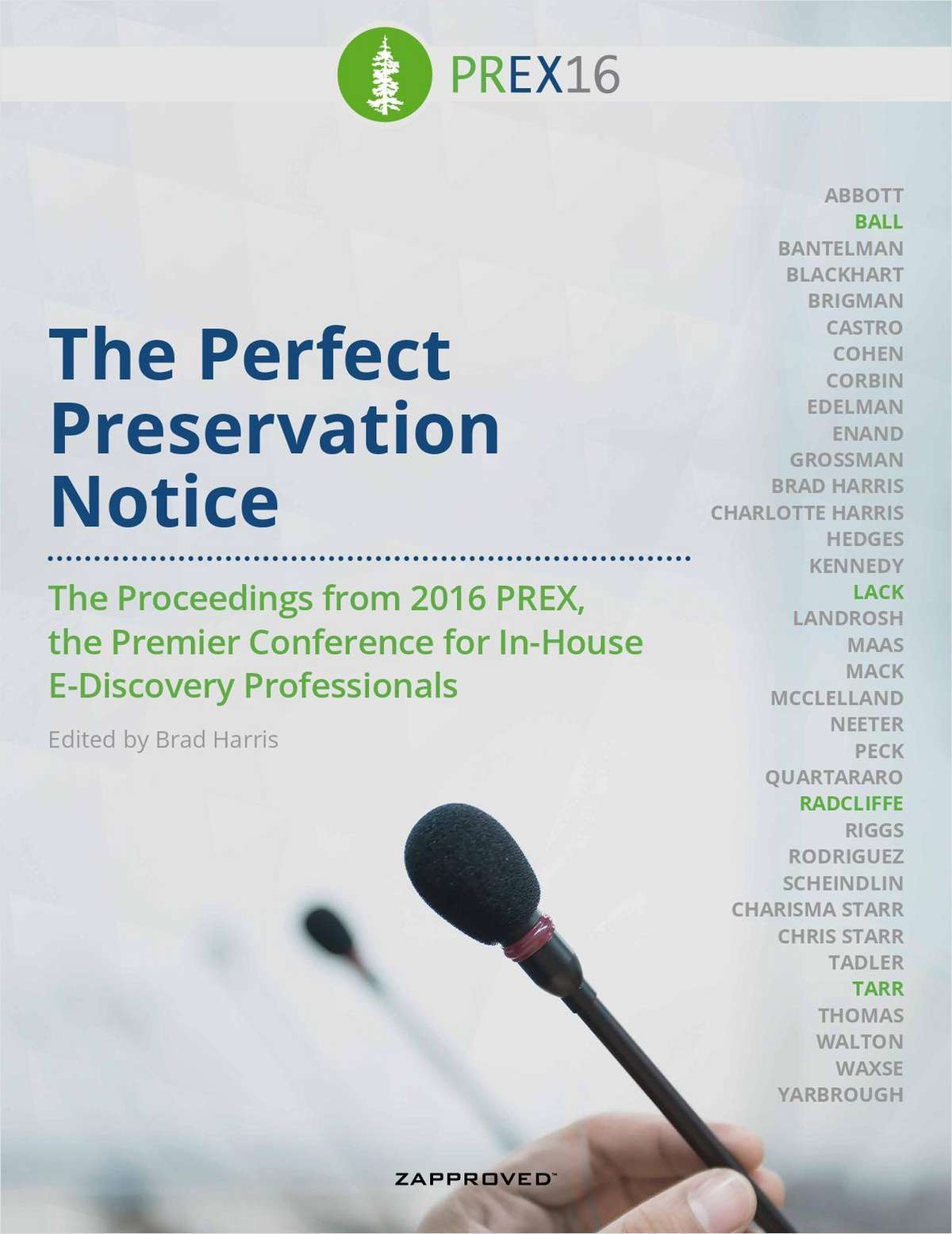 2016 PREX Practical: The Perfect Preservation Notice RECAP