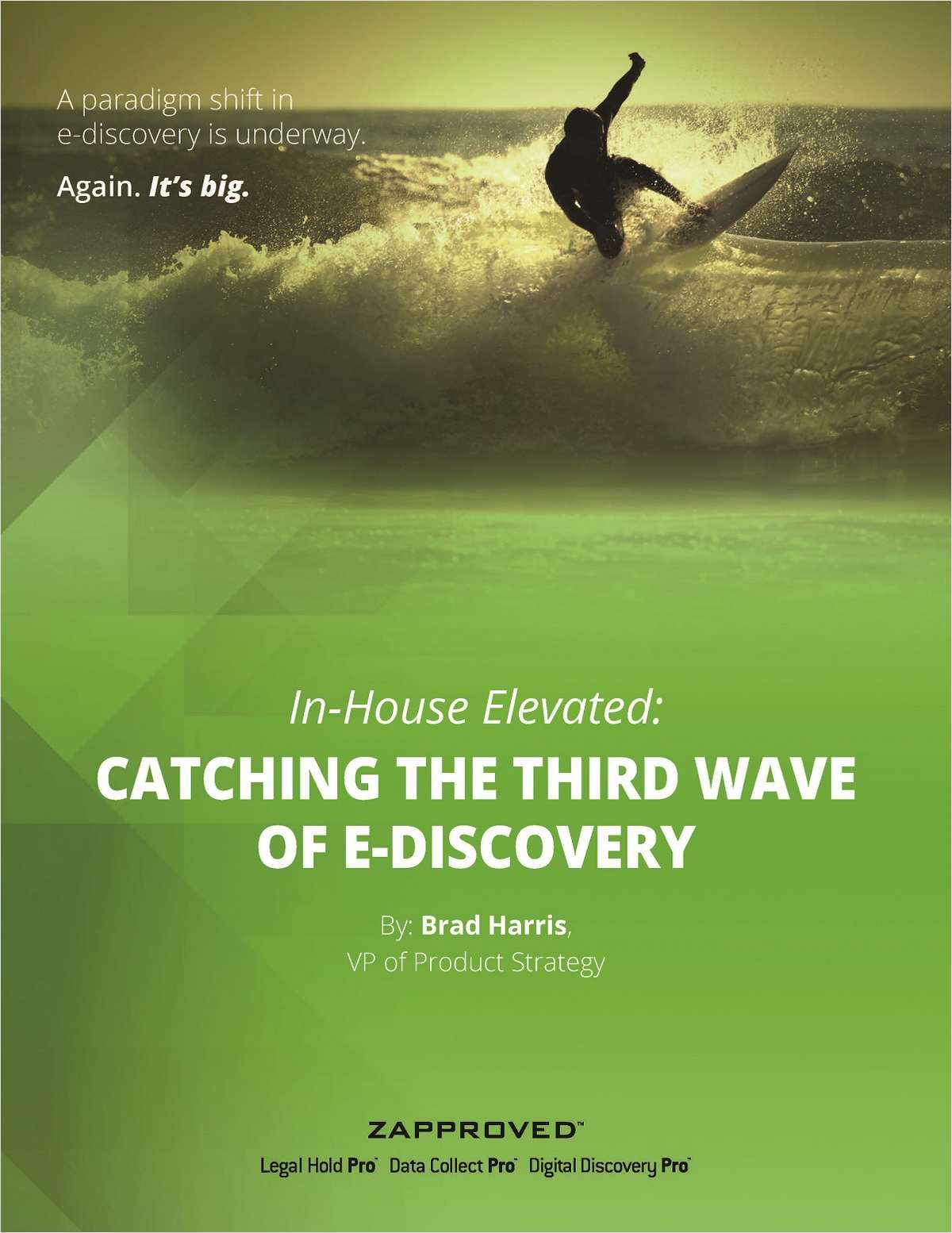 A Paradigm Shift in E-Discovery is Underway. Again. It's BIG.