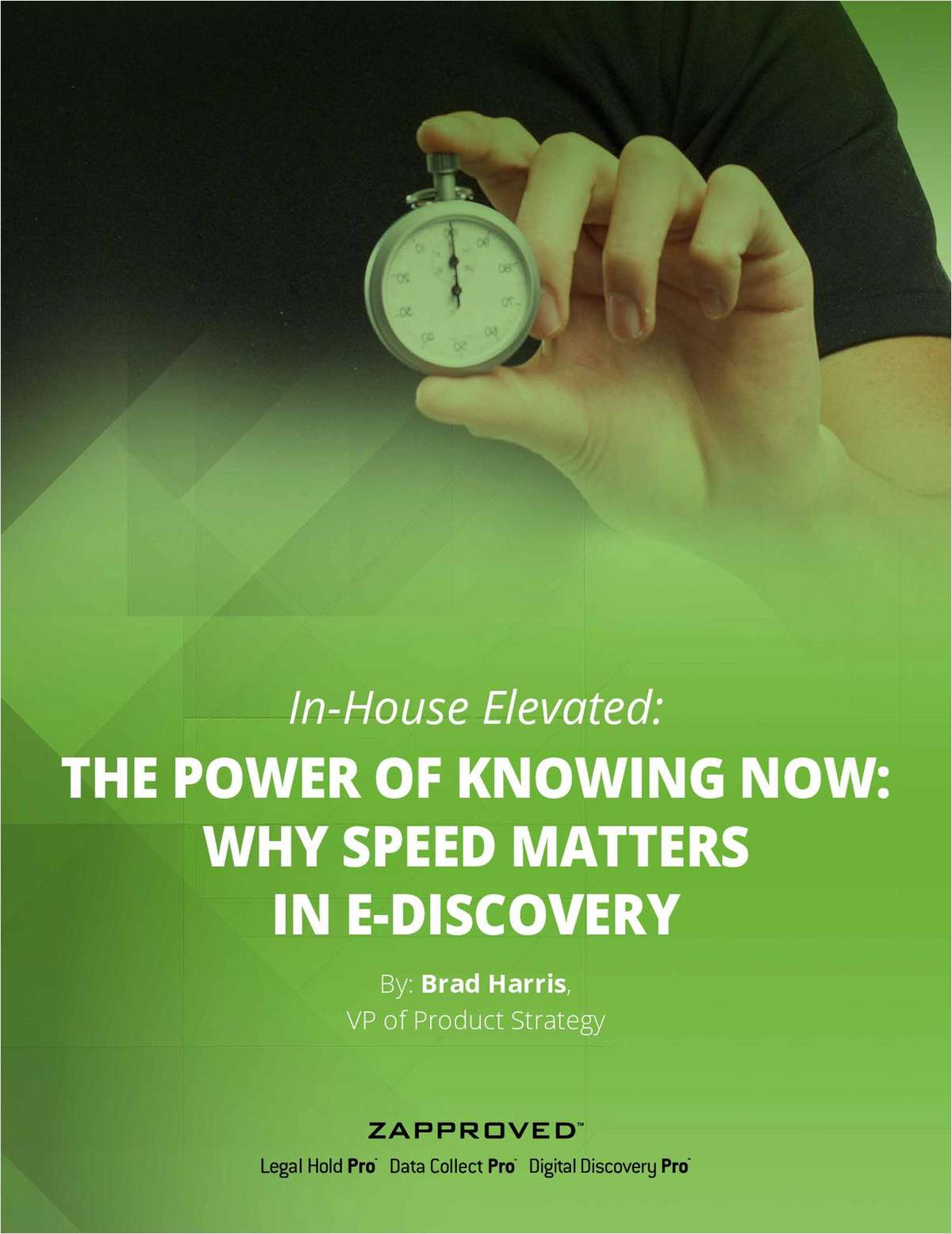 Speed Matters: The Power of Knowing Now