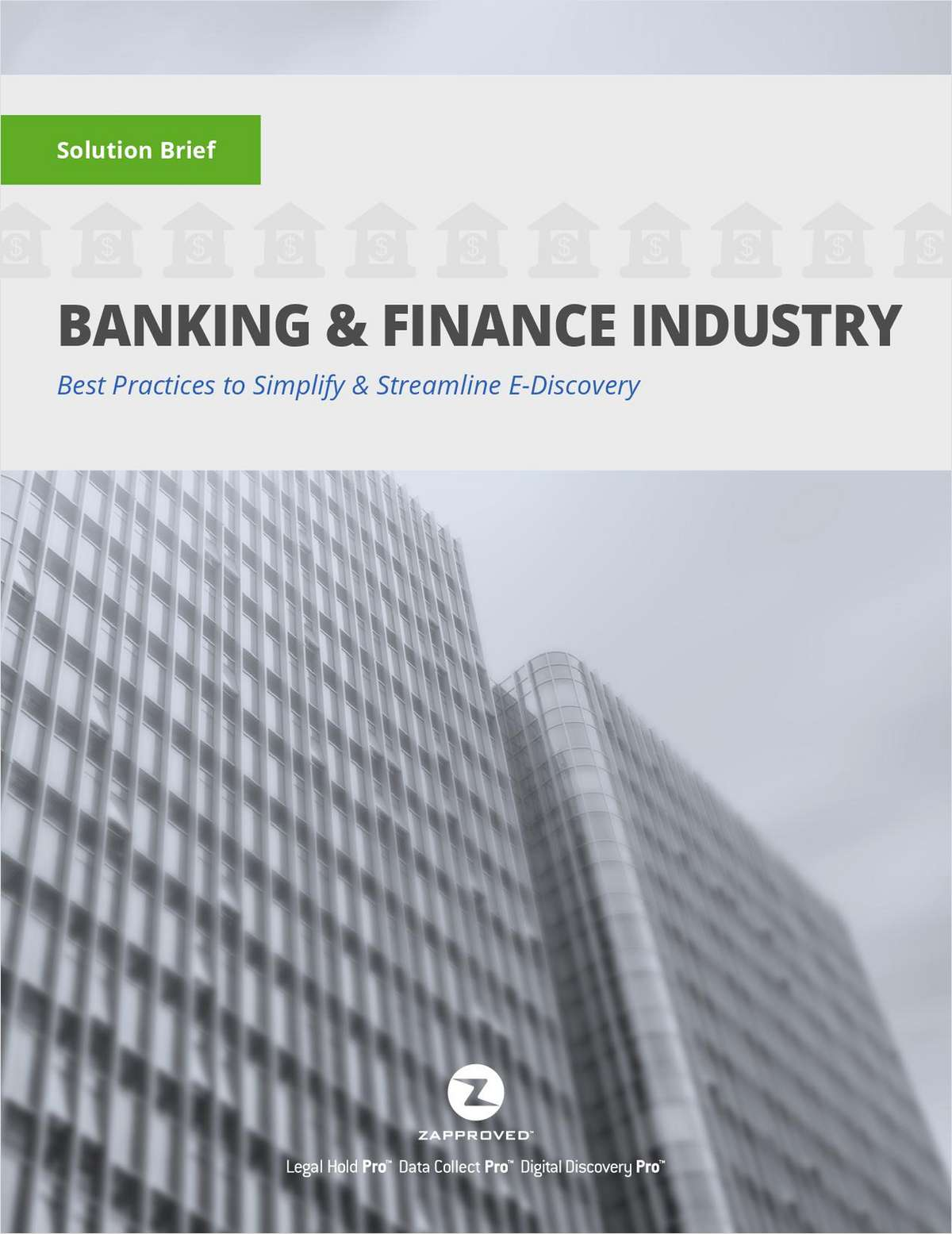 2017 Solution Brief: Banking and Finance Industry