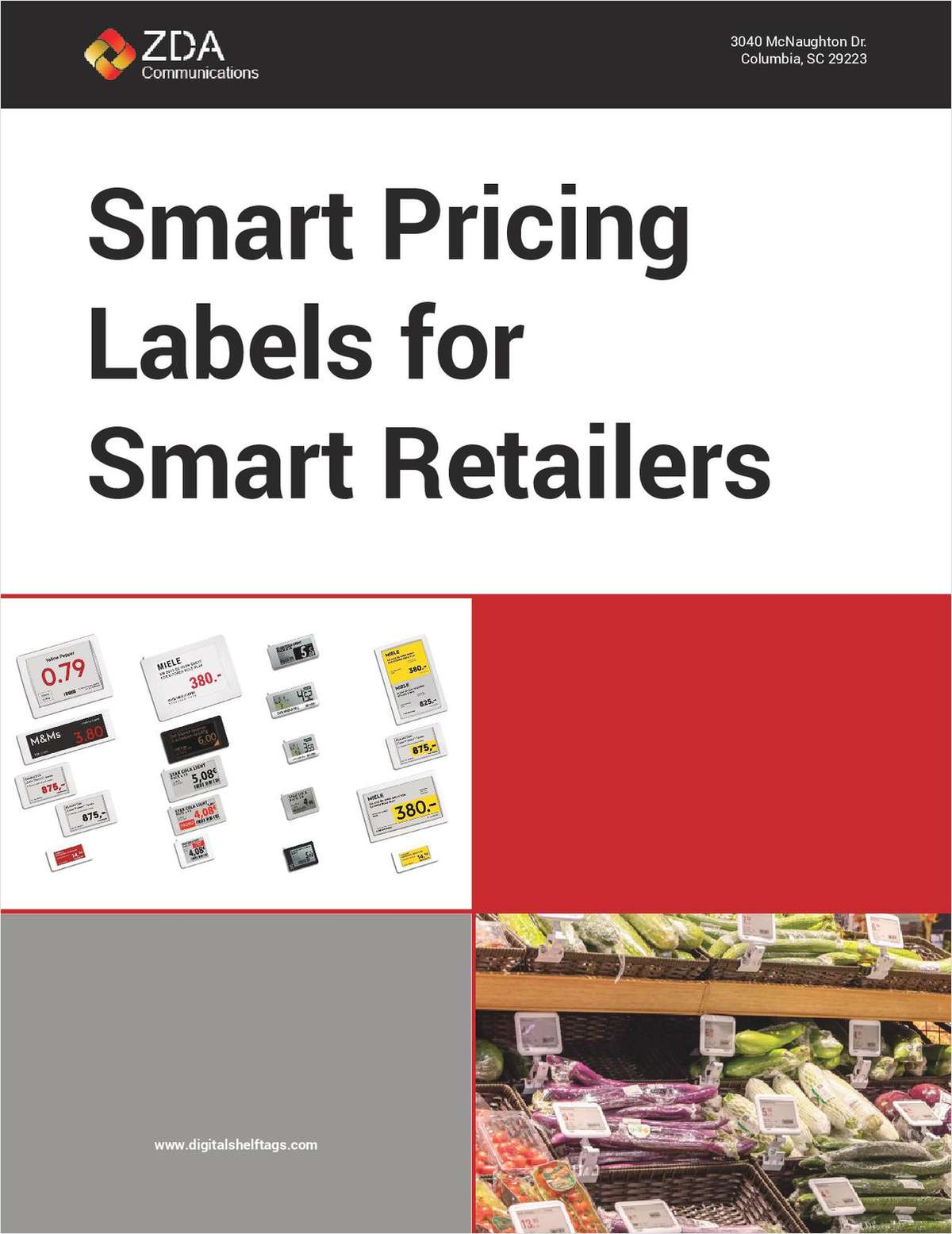 Smart Pricing Labels for Smart Retailers