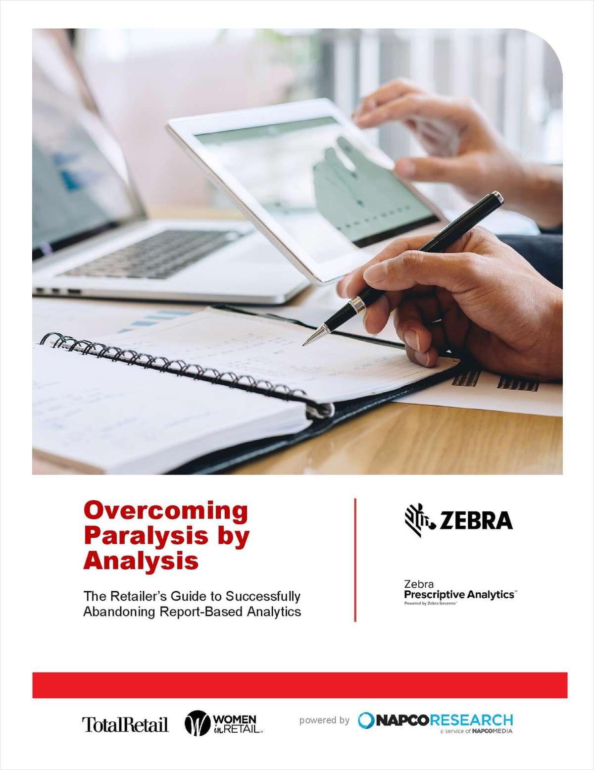 Overcoming Paralysis by Analysis