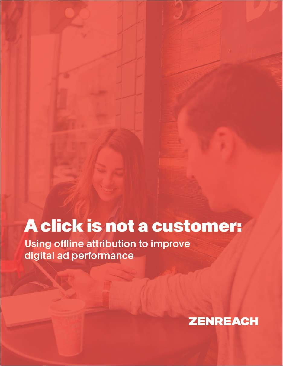 A Click is Not a Customer: Using Offline Attribution to Improve Digital Ad Performance