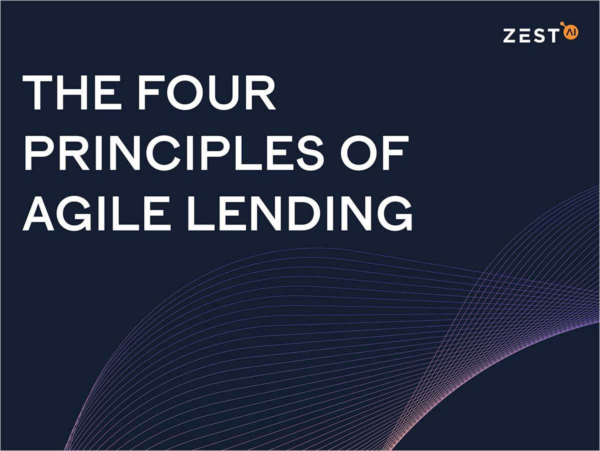 The Four Principles of Agile Lending for Your CU