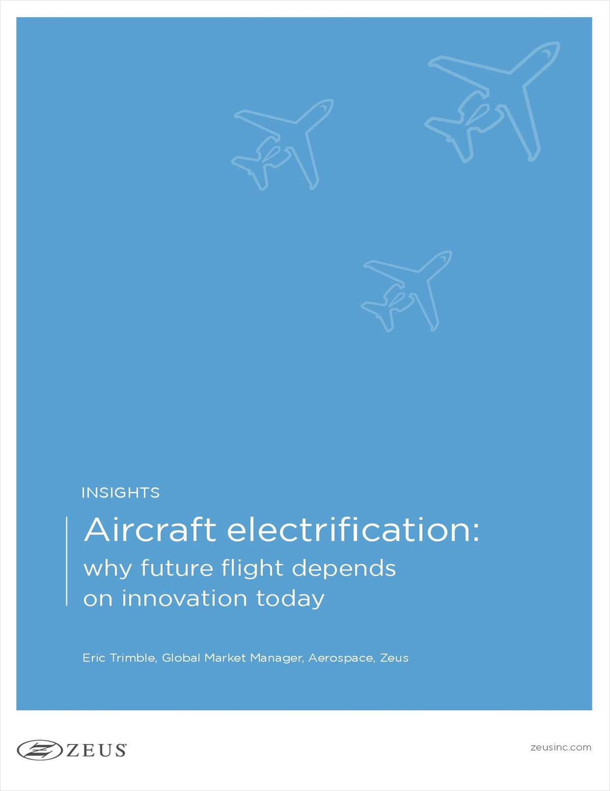 Aircraft electrification: why future flight depends on innovation today