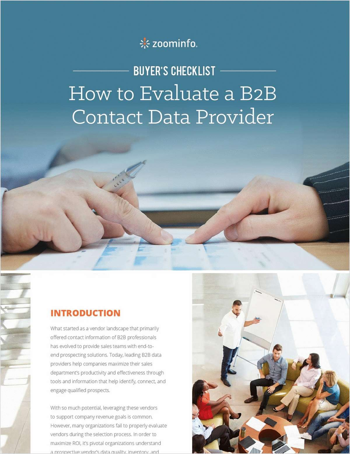 How to Evaluate a B2B Contact Data Provider