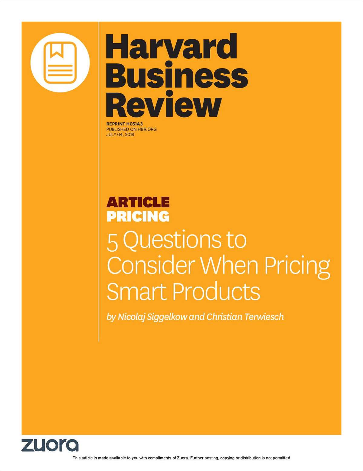 5 Questions to Consider When Pricing Smart Products