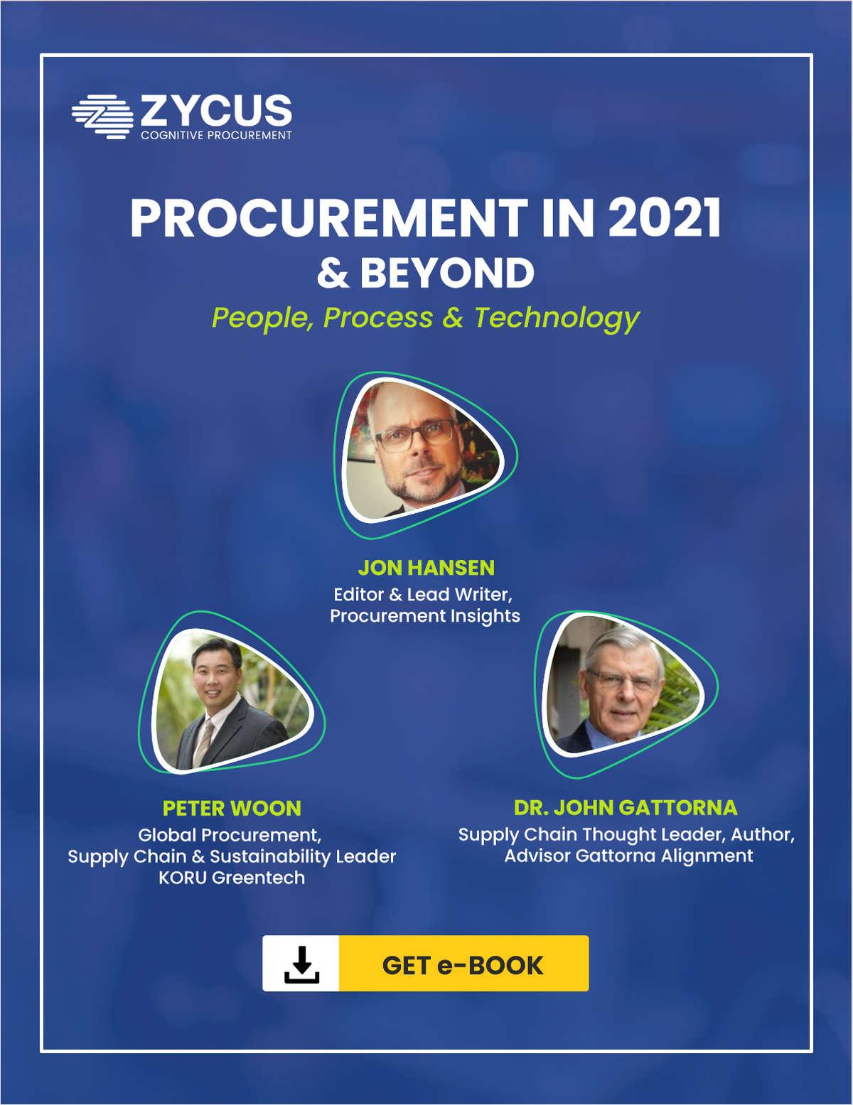 Procurement in 2021 & Beyond