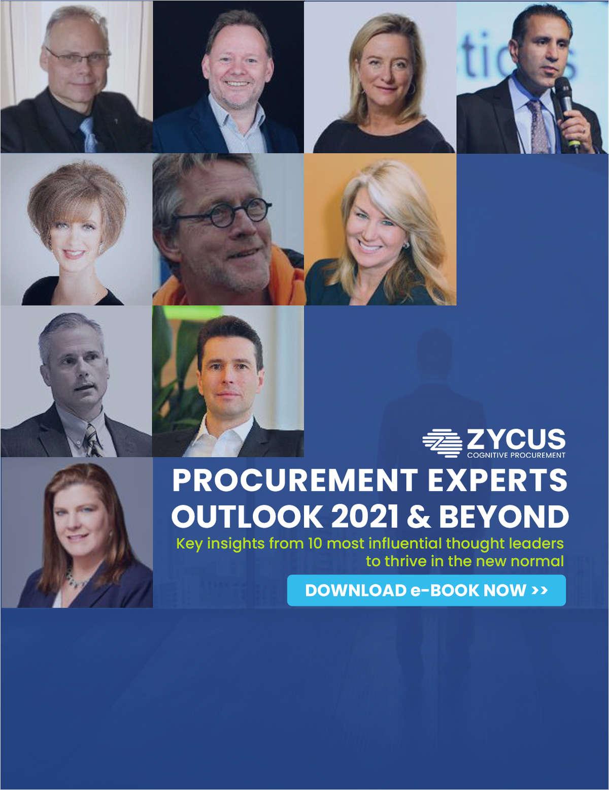 Procurement Experts Outlook 2021 & Beyond