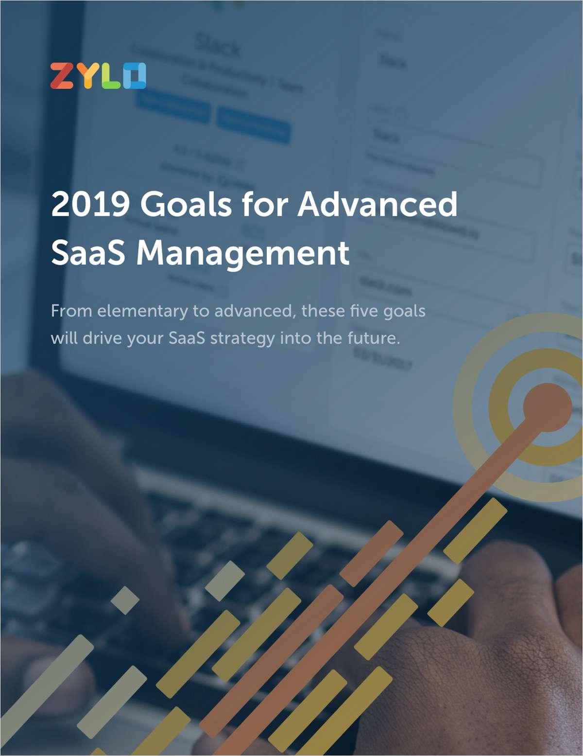 2019 Goals for Advanced SaaS Management
