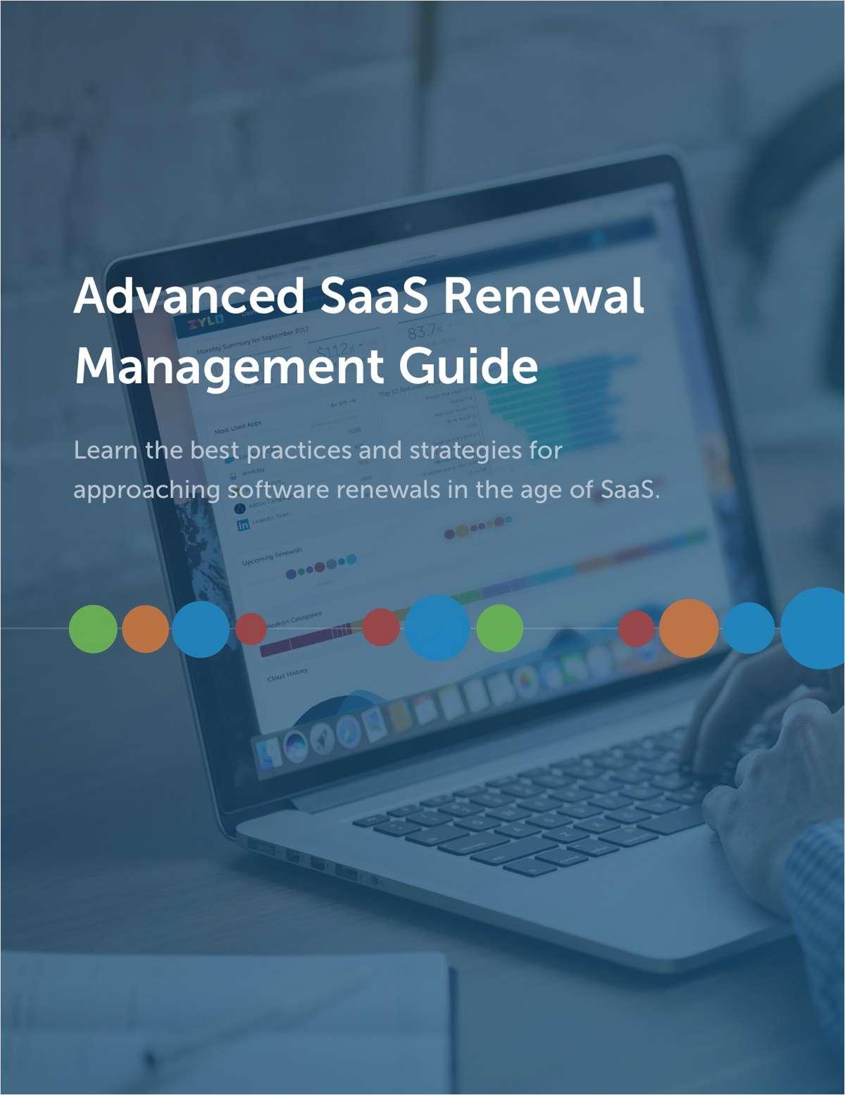 Advanced SaaS Renewal Management for IT Procurement