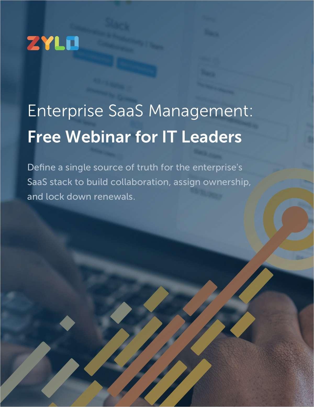 Enterprise SaaS Management: Eliminate Shadow IT