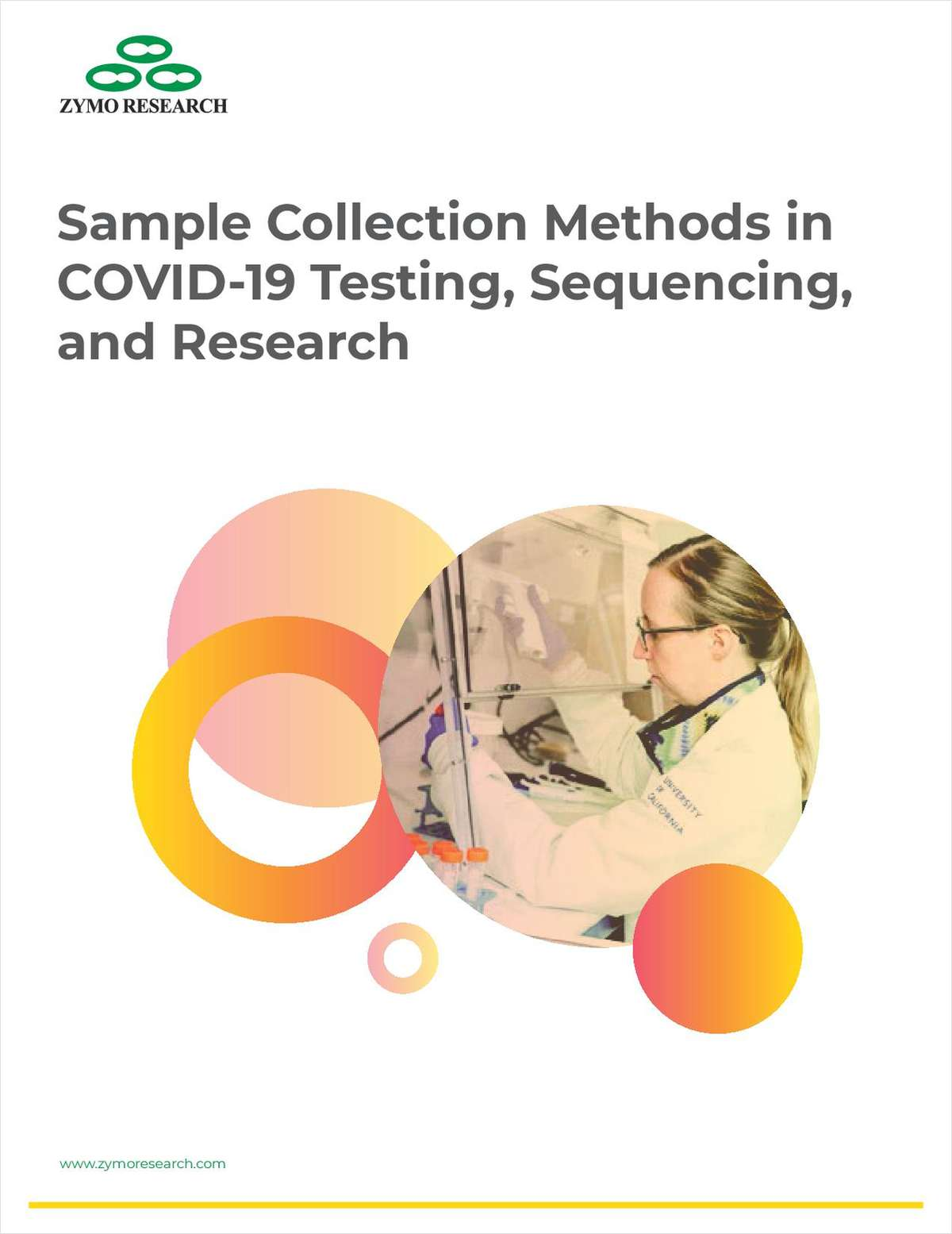 Sample Collection Methods in COVID-19 Testing, Sequencing, and Research