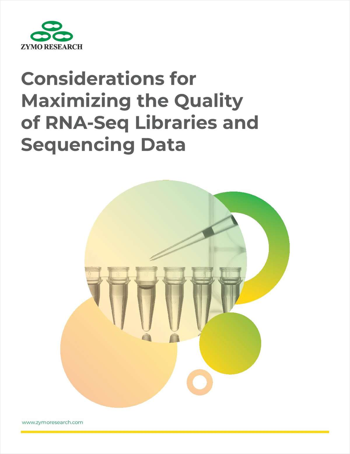 Considerations for Maximizing the Quality of RNA-Seq Libraries and Sequencing Data