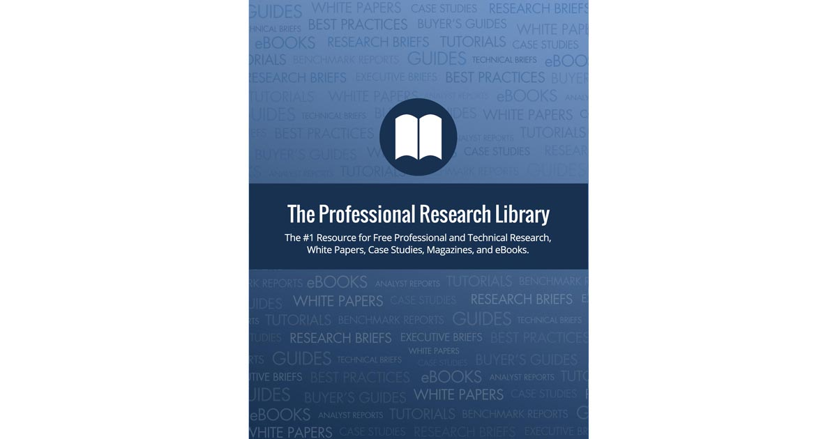 Free professional and technical research library of white papers free professional and technical research library of white papers magazines reports and ebooks sciox Gallery