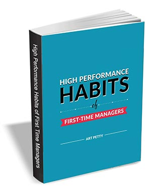 High Performance Habits of First-Time Managers