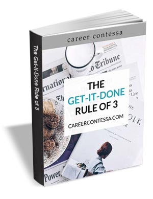 The Get-It-Done Rule of 3 - Productivity Workbook