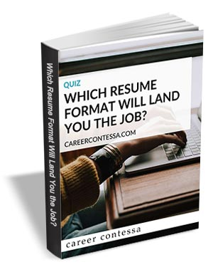 Quiz - Which Resume Format Will Land You The Job?