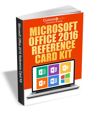 Microsoft Office 2016 -- Free Reference Card Kit
