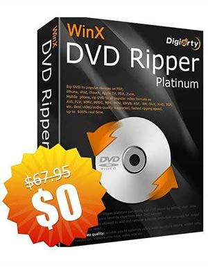 WinX DVD Ripper Platinum ($67.95 Value) FREE for a Limited Time