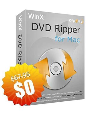 WinX DVD Ripper for Mac ($67.95 Value) FREE for a Limited Time