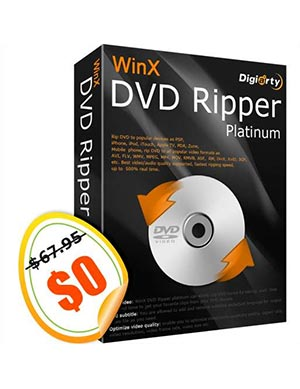 WinX DVD Ripper Platinum 2018 ($67.95 Value) Free for a Limited Time