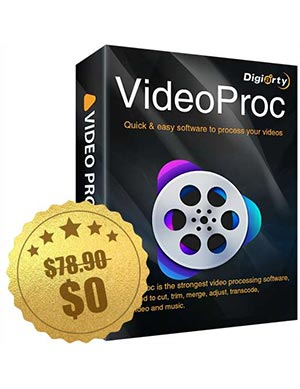 VideoProc Digiarty Anniversary Giveaway ($78.90 Value) FREE for a Limited Time