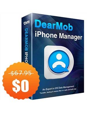 DearMob iPhone Manager for Win/Mac ($67.95 Value) FREE for a Limited Time