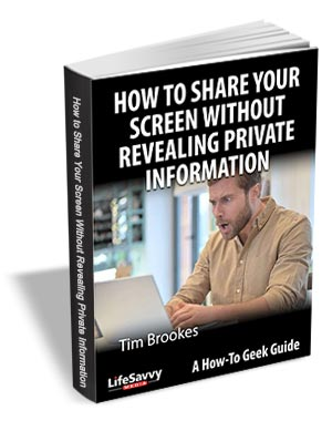 How to Share Your Screen Without Revealing Private Information