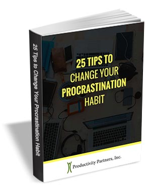 25 Tips to Change Your Procrastination Habit