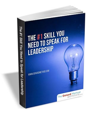 The #1 Skill You Need to Speak for Leadership