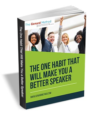 The One Habit that Will Make You a Better Speaker