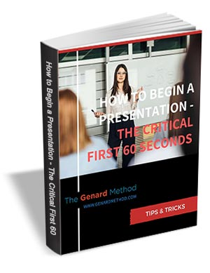 How to Begin a Presentation: The Critical First 60 Seconds
